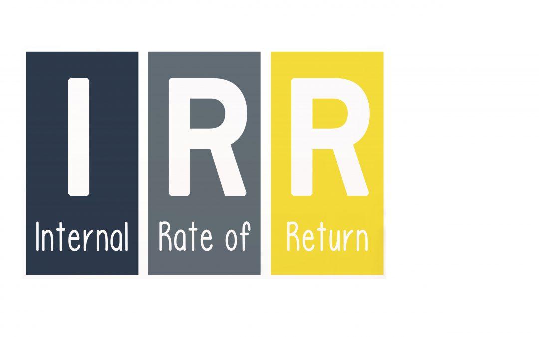 Internal Rate of Return & Marginal Internal Rate of Return